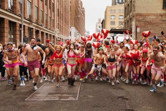 Cupid's Undie Run in San Jose Feb 15, 2014
